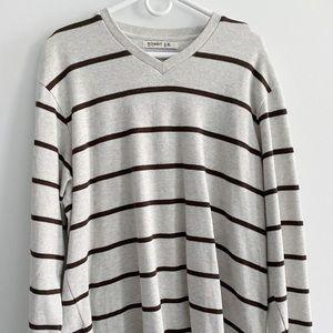 Old Navy men's stripe sweater